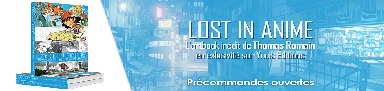 Lost in Anime de Thomas Romain
