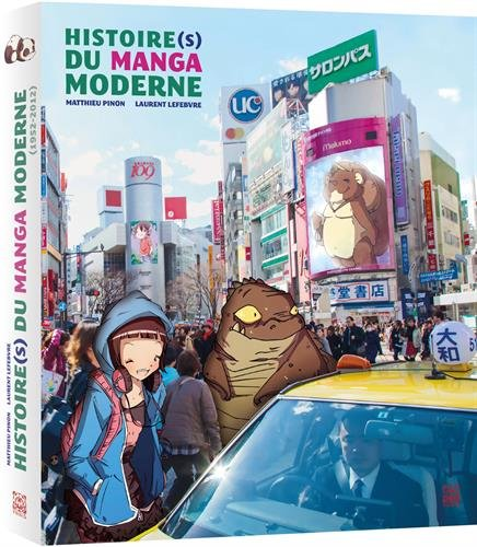 Couverture Histoire(s) du manga moderne
