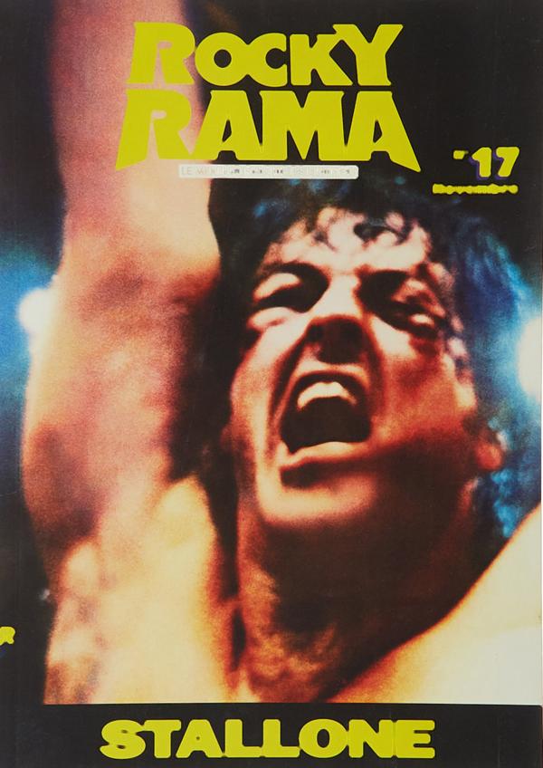Couverture Rockyrama Stallone