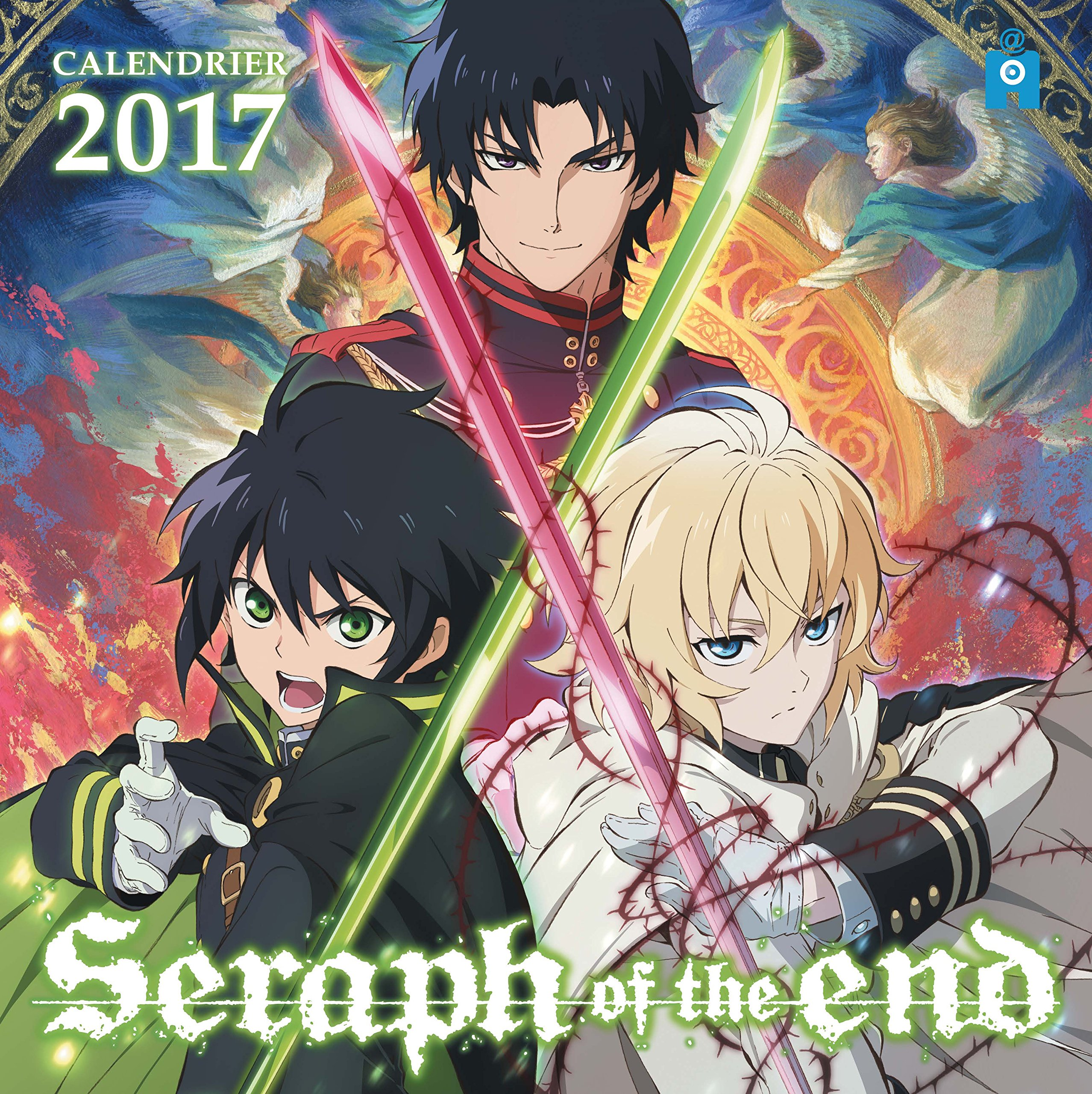 Calendrier Manga.Calendrier 2017 Seraph Of The End Ynnis Editions