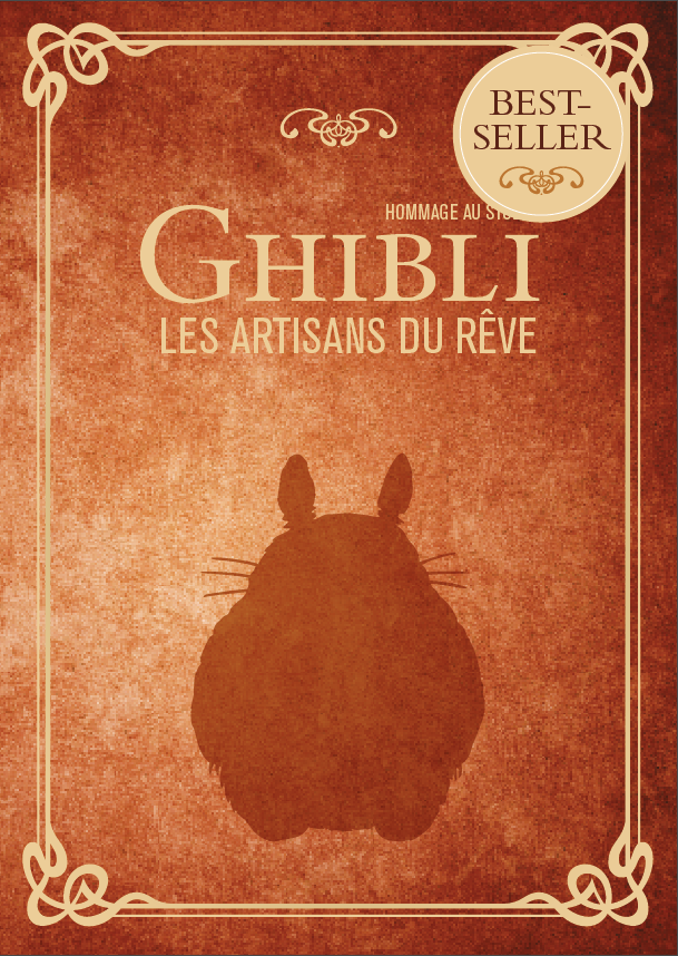Couverture Hommage au studio Ghibli best-seller
