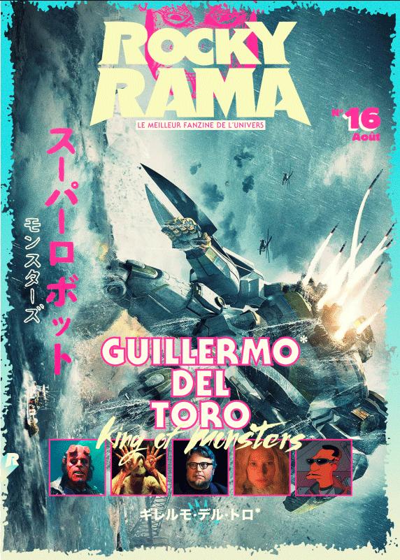 Couverture Rockyrama Guillermo del Toro