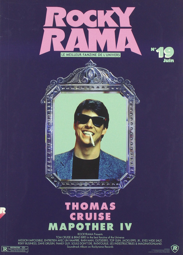 Couverture Rockyrama Tom Cruise Brad Bird