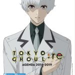 4e couverture agenda scolaire 2018-2019 Tokyo Ghoul:Re