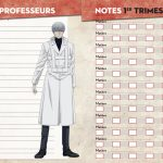 Agenda scolaire 2018-2019 Tokyo Ghoul:Re