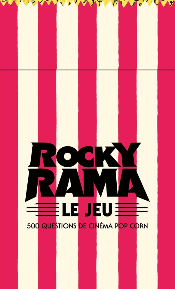 Boîte Quiz Rockyrama 500 questions de cinéma popcorn