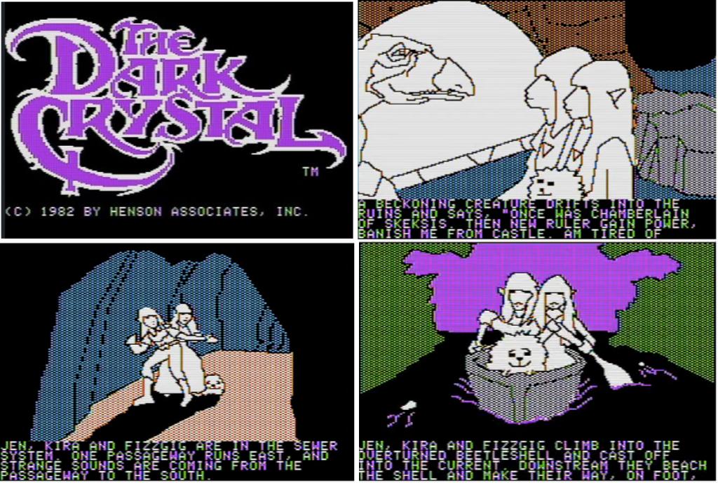 The Dark Crystal jeu video 1983