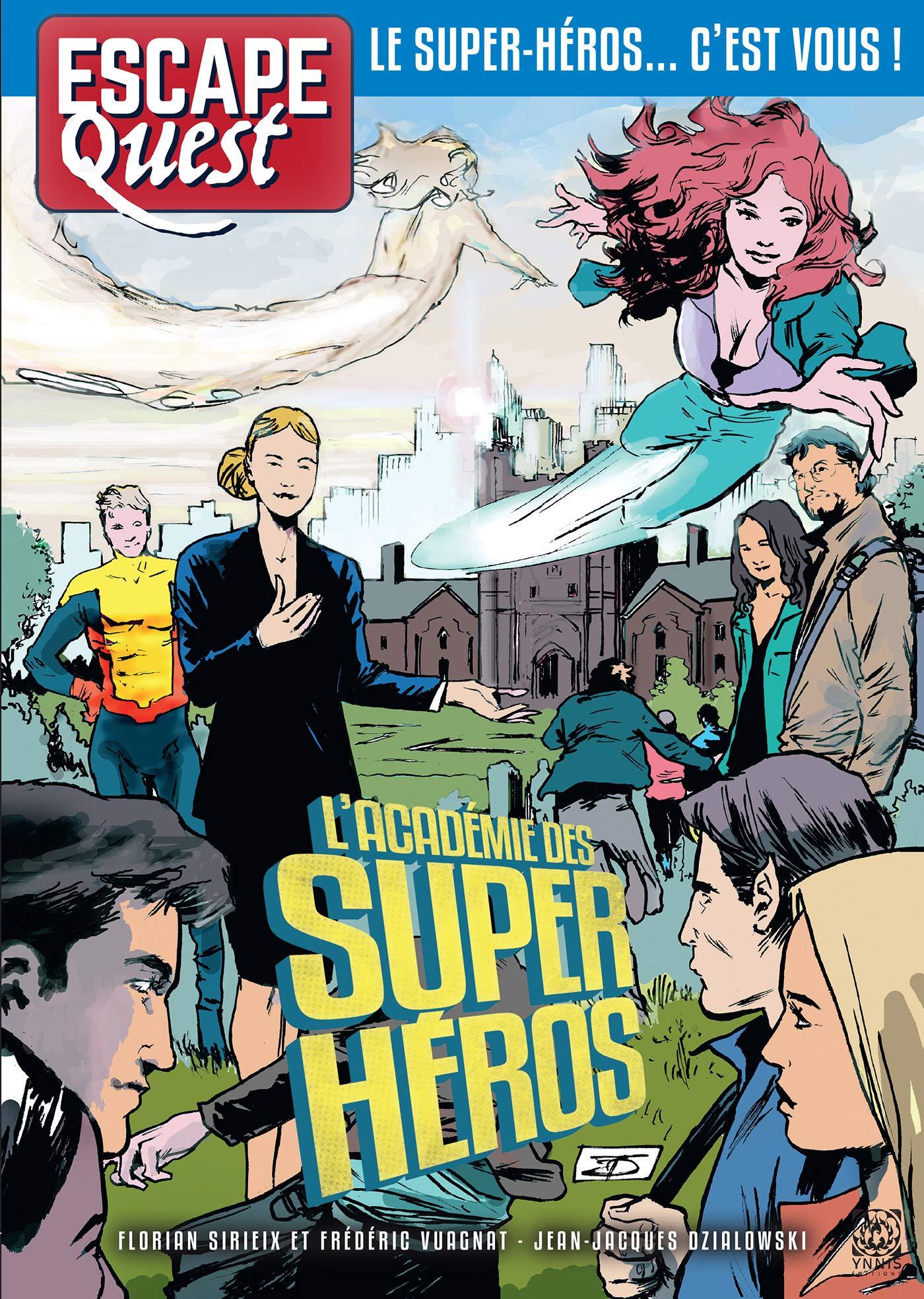 EQ6 L'académie des super-héros