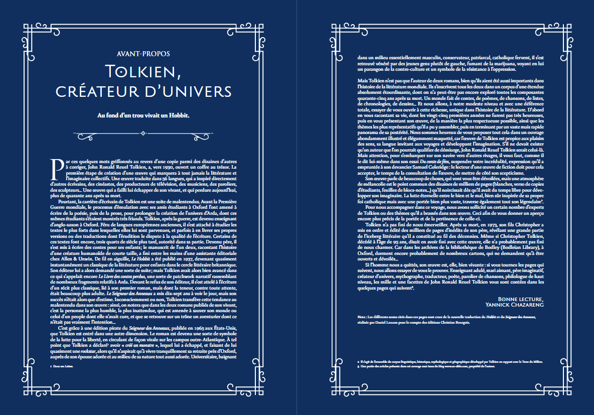 Préface Tolkien