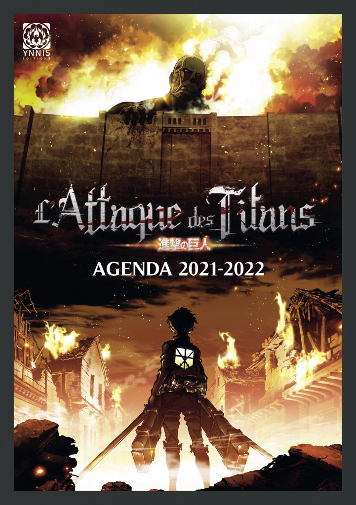 Agenda L'Attaque des titans 2021 2022