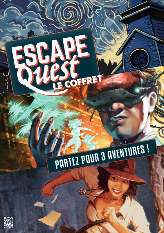 Coffret Escape Quest