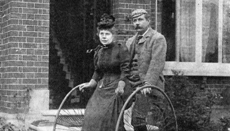 Conan Doyle et sa femme