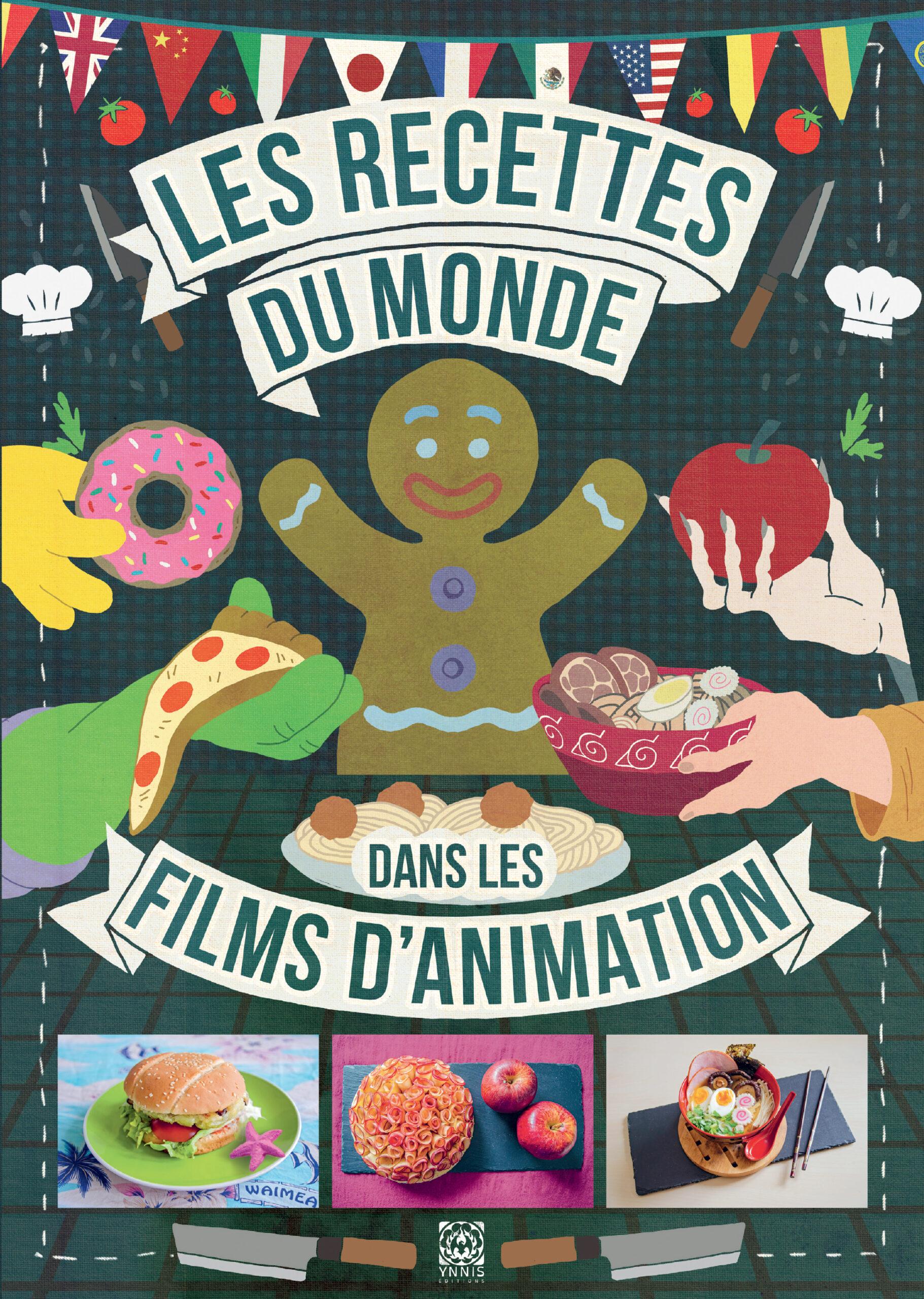 Les recettes du monde dans les films d'animation